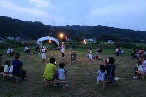 7月の様子(夕涼み会)